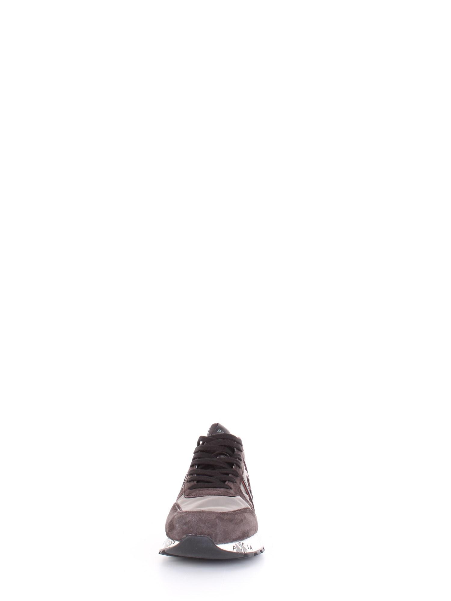 PREMIATA Uomo LANDER Grigio arancio-4149 Sneakers Autunno//Inverno suede nylon