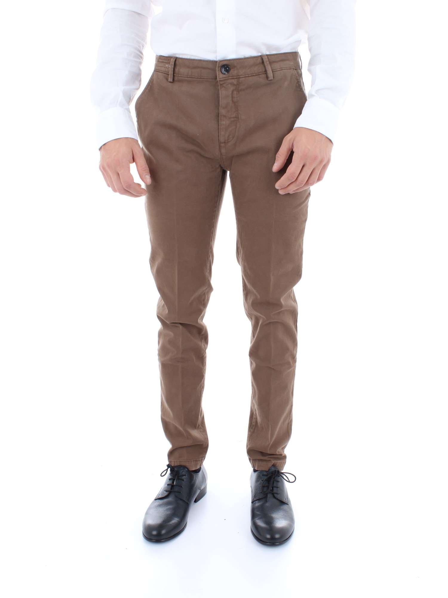 Pantalon brun Simmons Yan Story 05 clair A104 homme hiver automne RqRHTwxU