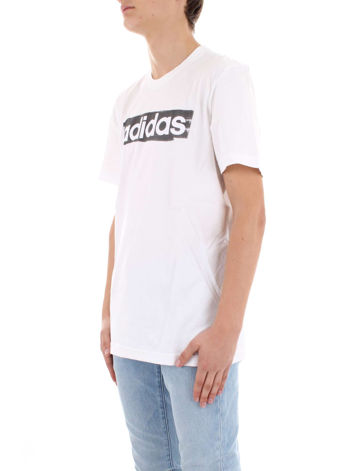 PrintempsÉté Dv3050 T shirt Homme White Adidas iPuXkZ