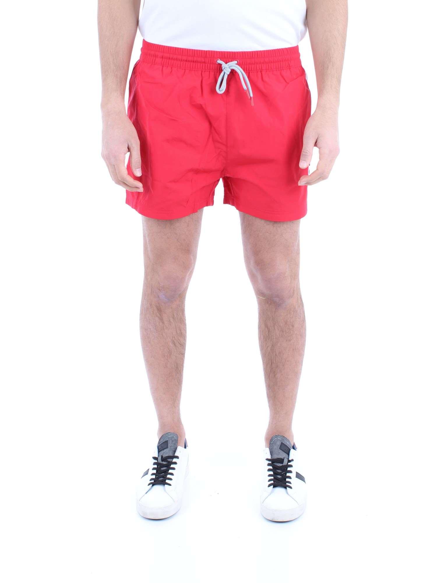 9132c831df1b Colore: Rosso bianco-G12 Materiale: nylon. Costume da bagno uomo Fila  elastico in vita e coulisse retina interna stampa logo due tasche frontali