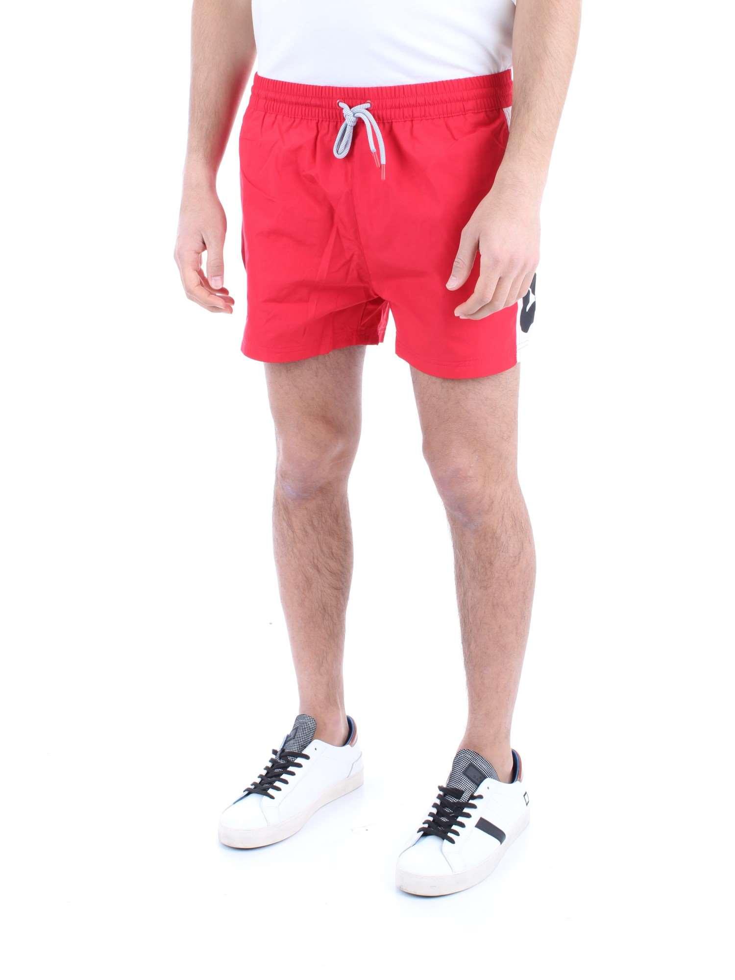 7ed9df207787 FILA Uomo 687205 Rosso bianco-G12 Costume da bagno Primavera/Estate ...