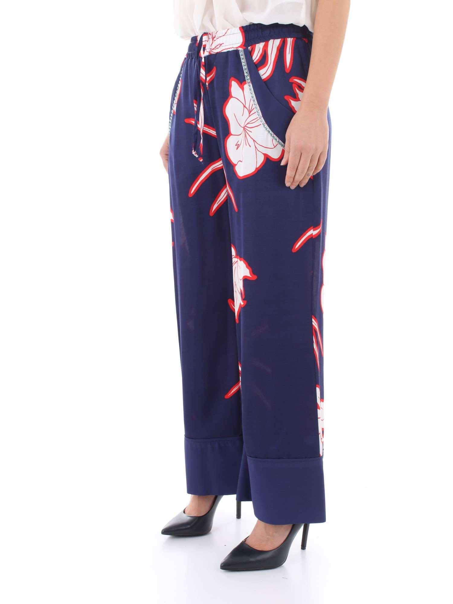 Pinko Pantaloni 1g13wd Blu er4 estate 7329 Dimagrante Donna Primavera fqfrxXS