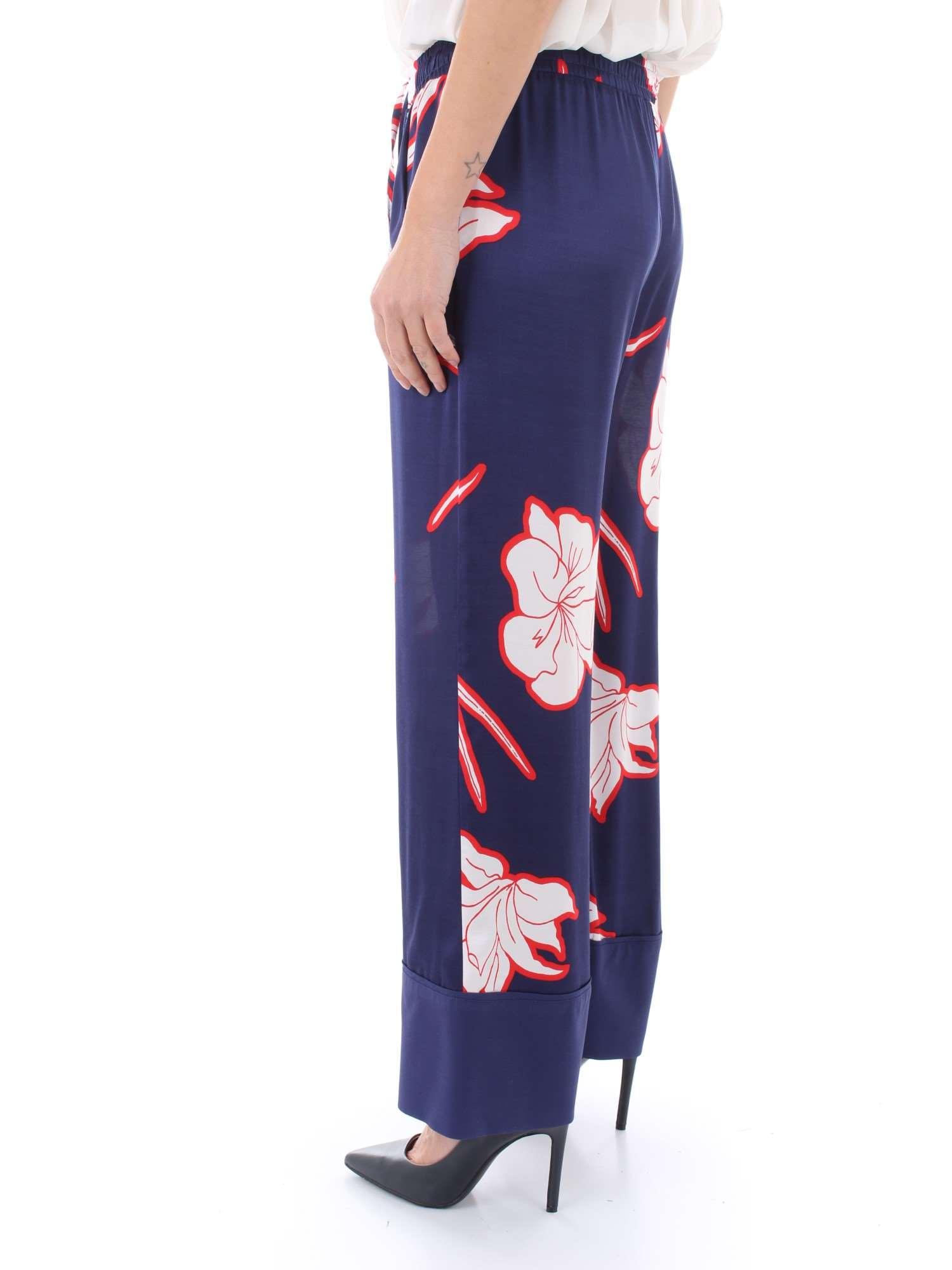 Pantaloni Donna 1g13wd Pinko estate er4 7329 Blu Dimagrante Primavera 6YXwa