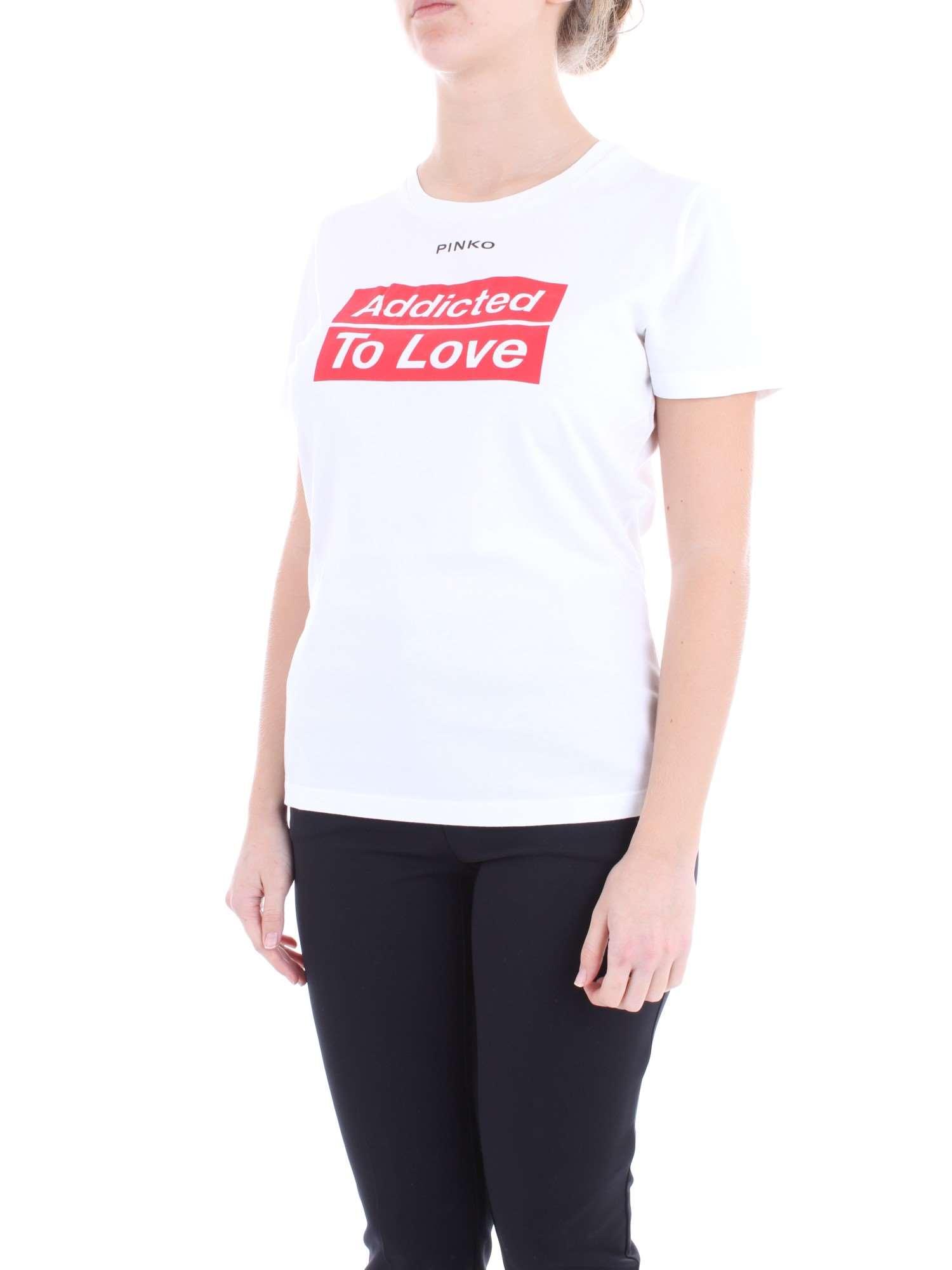 shirt 1g13yd Donna T Y5bd Bianco Primavera z10 Pinko estate Spontaneo aZqPTZH