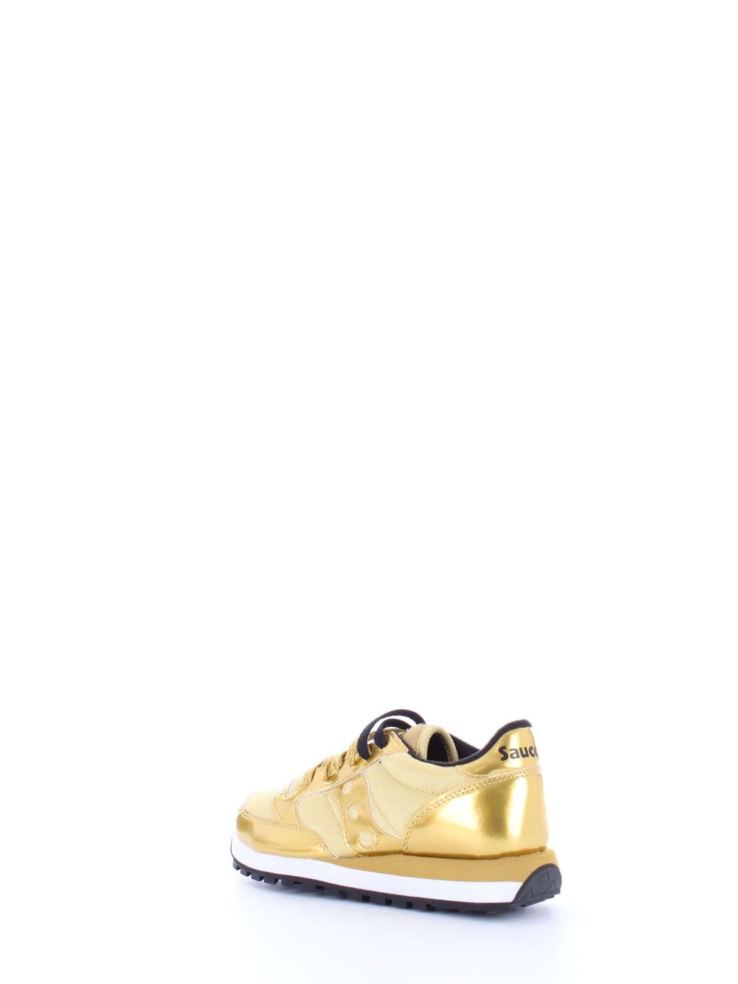 ab47075515 Dettagli su SAUCONY Donna 1044 JAZZ METALLIC Oro-460 Sneakers  Primavera/Estate pelle nylon