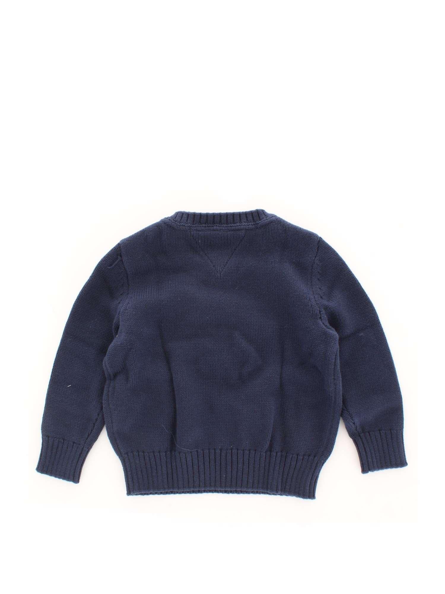 13a94714 TOMMY HILFIGER Kids KB0KB04503 1 Black iris-002 Sweater Spring ...