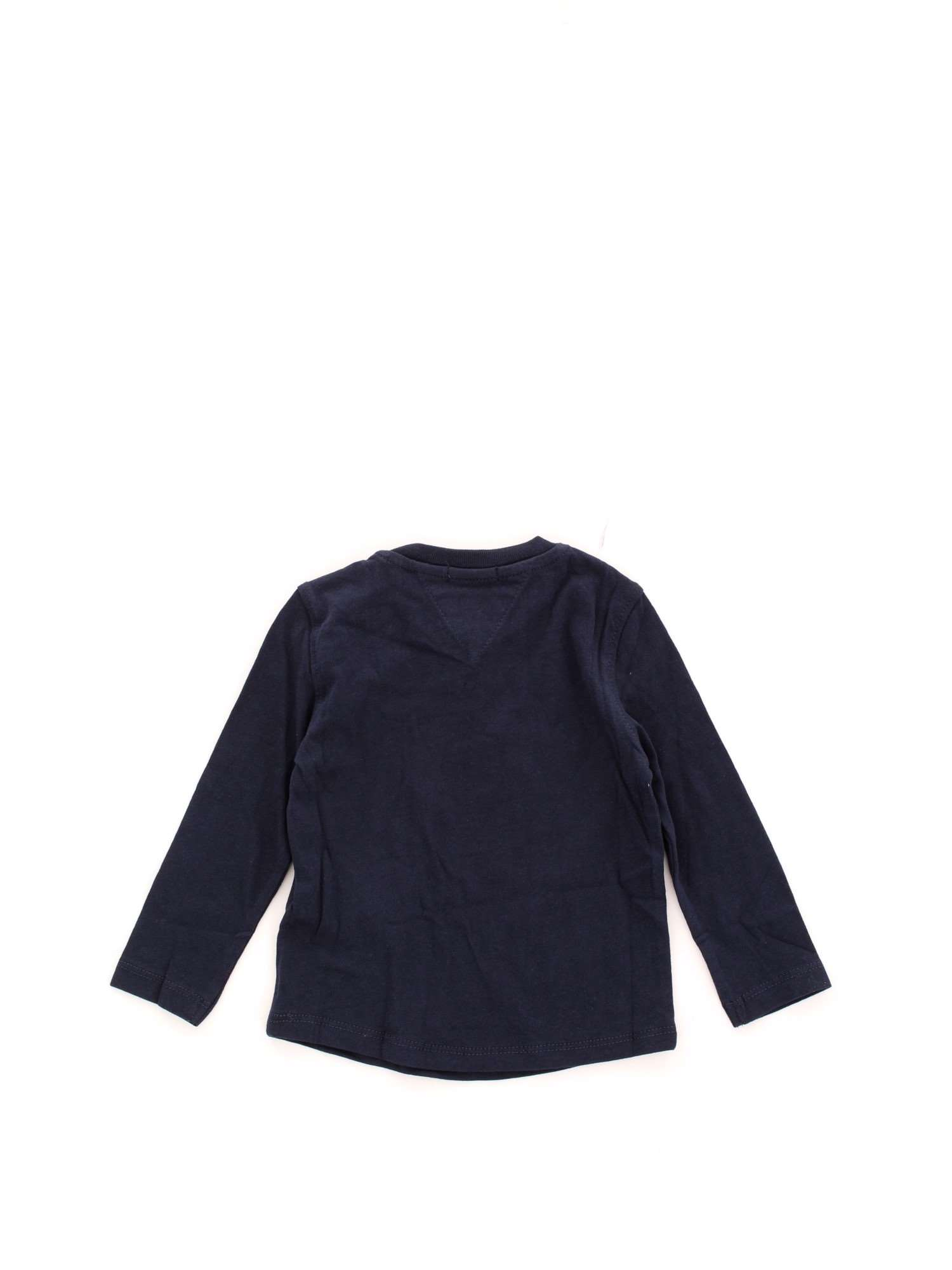 025b440b TOMMY HILFIGER Kids KB0KB04534 1 Black iris-002 T-shirt Spring ...