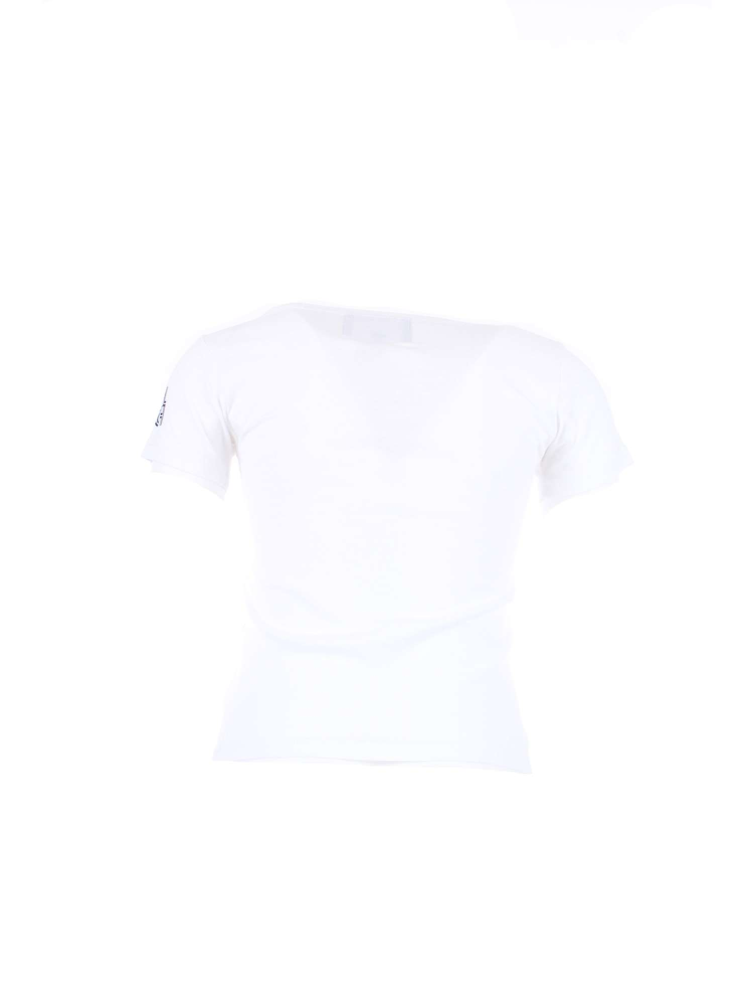 WOOLRICH-nino-WKTEE1256-blanco-8041-Camiseta-Primavera-Verano miniatura 3