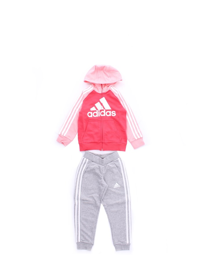 tute bambina adidas rosa