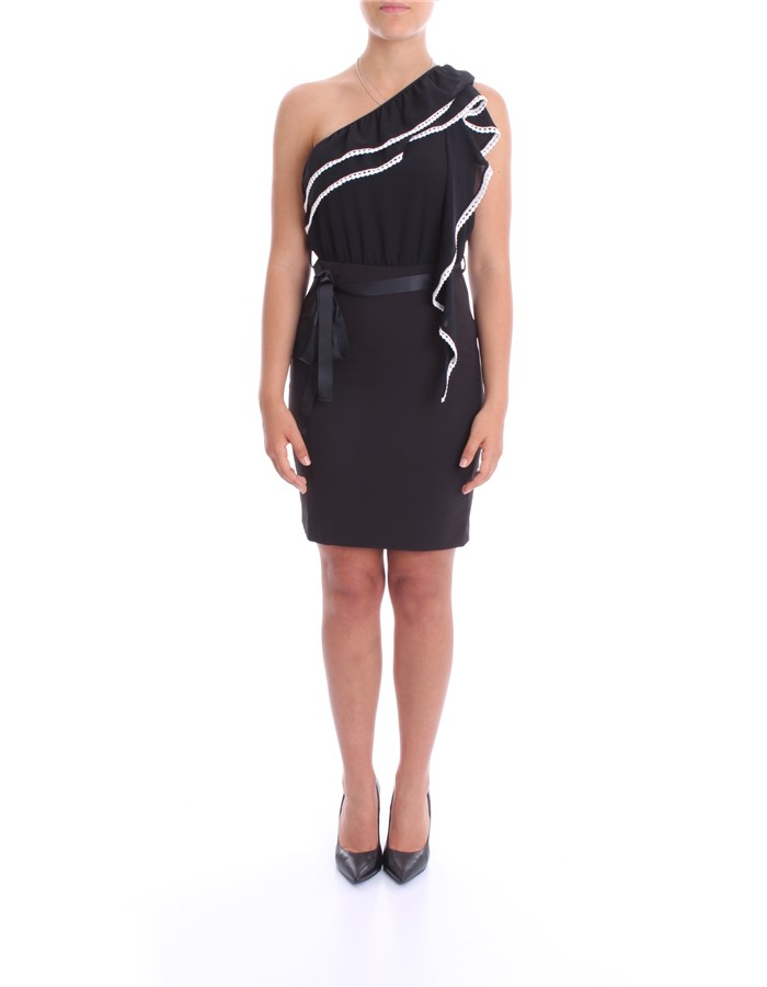 BLUMARINE Dress Black White