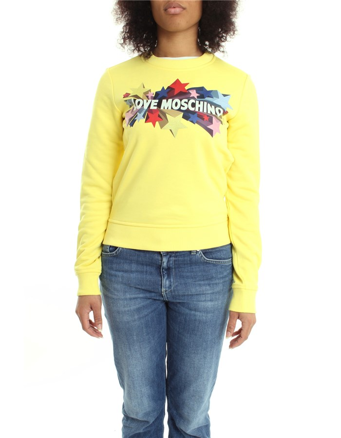 MOSCHINO Sweat Yellow