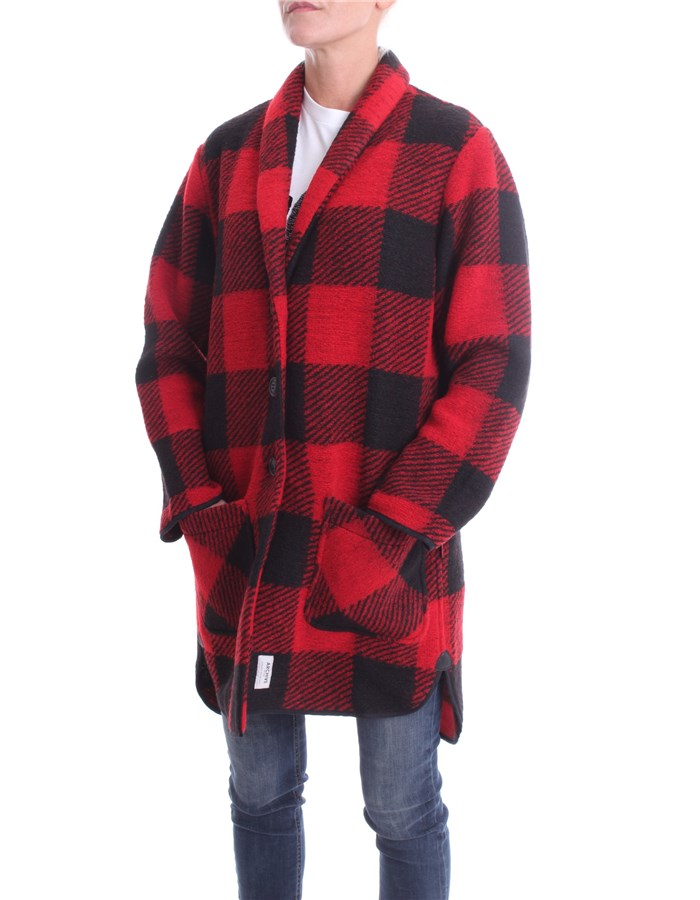 WOOLRICH Long Red