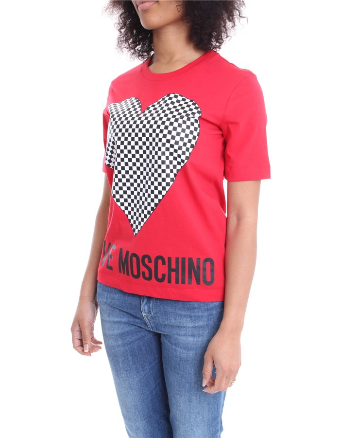 MOSCHINO T-shirt Red