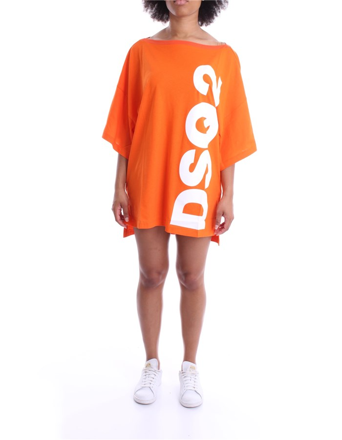 DSQUARED2 DRESS Orange