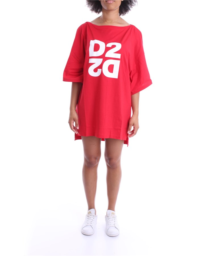 DSQUARED2 DRESS Red