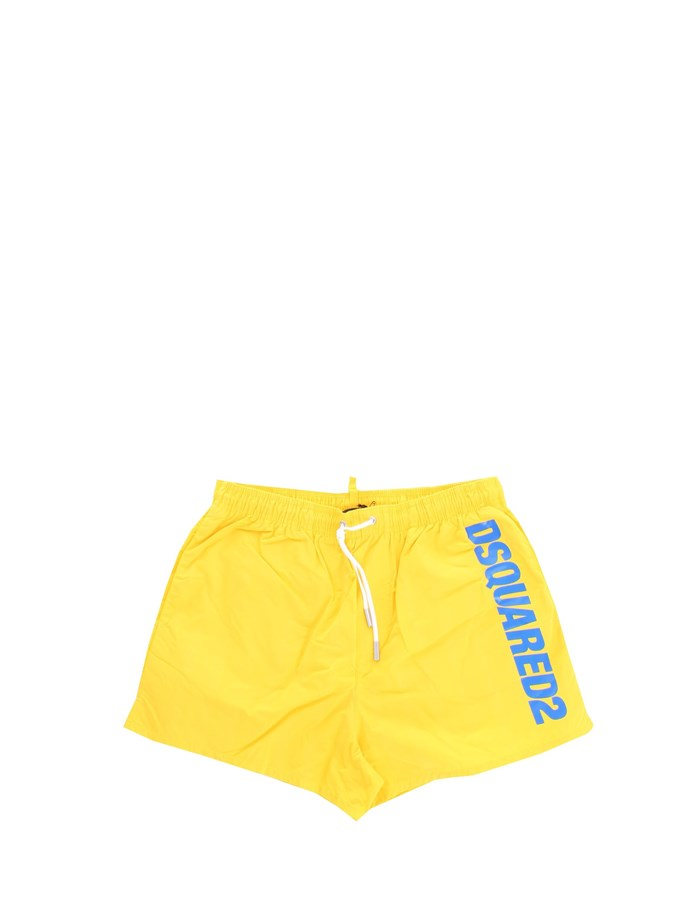 DSQUARED2 Swimsuit Yellow
