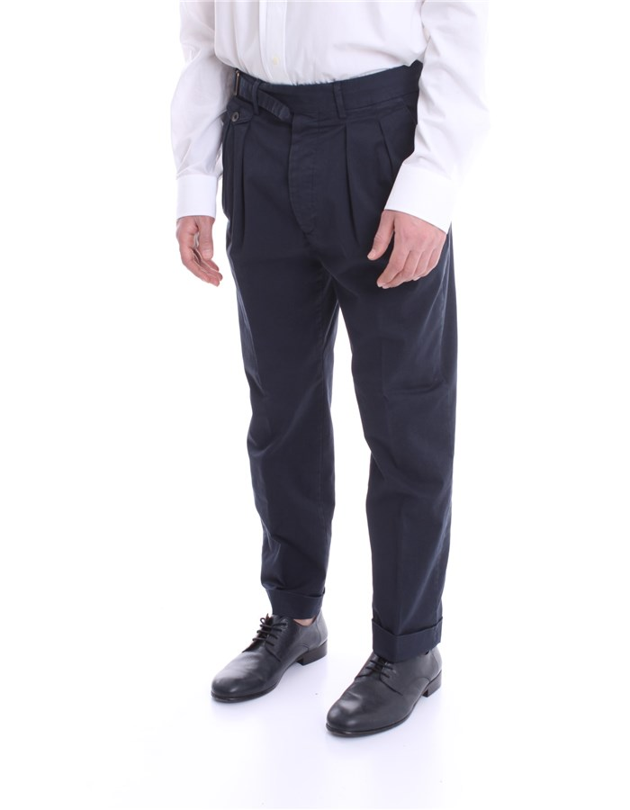 LARDINI Pants Blue