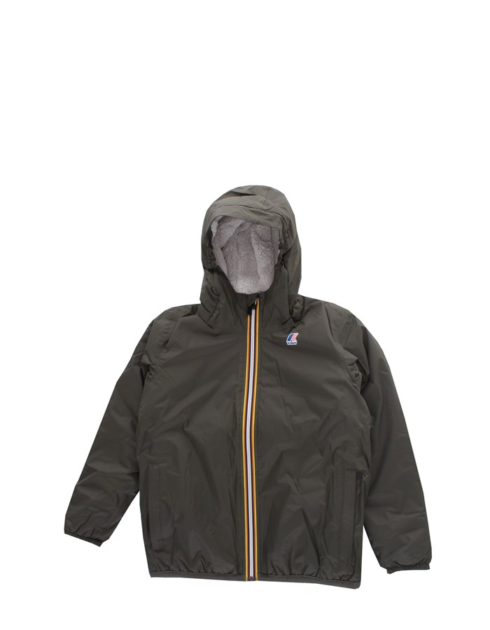 KWAY  Jacket K005DH0 B Black peat