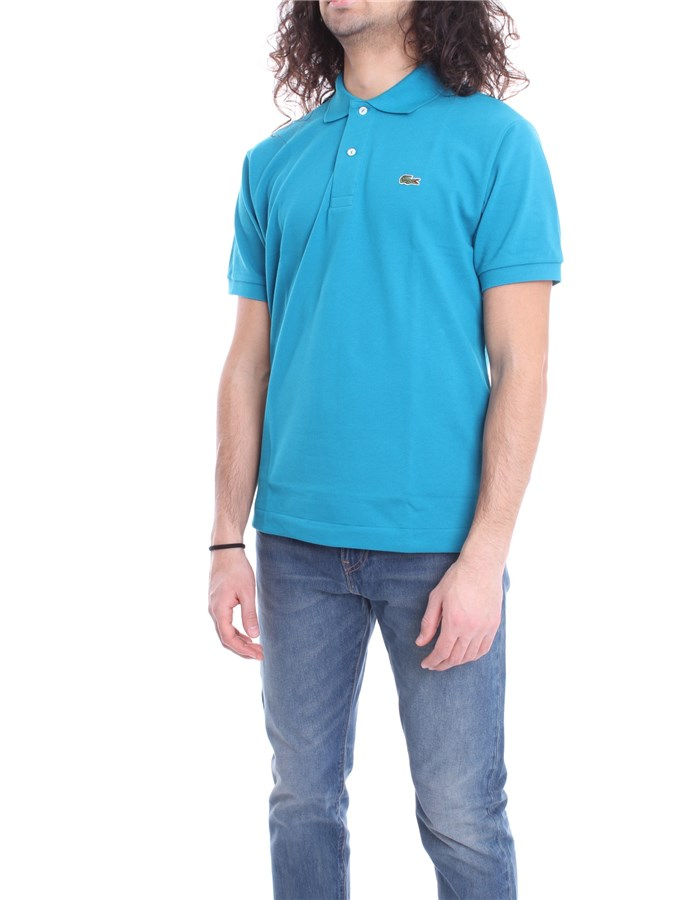 LACOSTE Polo shirt Emerald willo