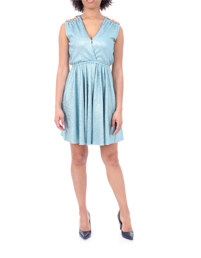 NENETTE DRESS Light blue