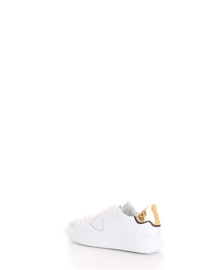 PHILIPPE MODEL Trainers White gold