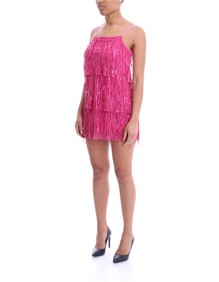 MADEMOISELLE DU MONDE Dress fuchsia