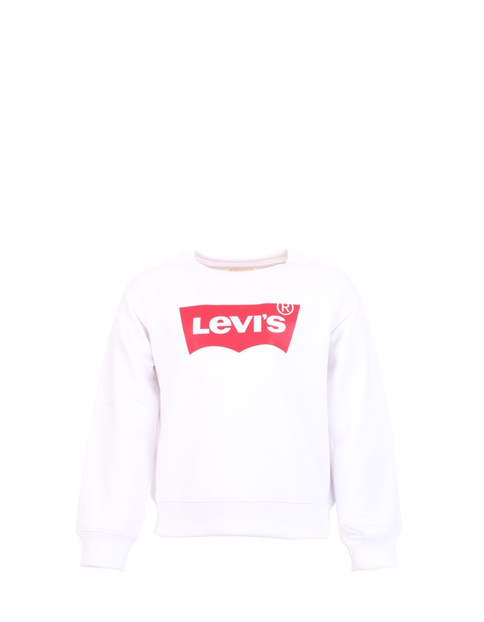LEVI'S Sweat White Red