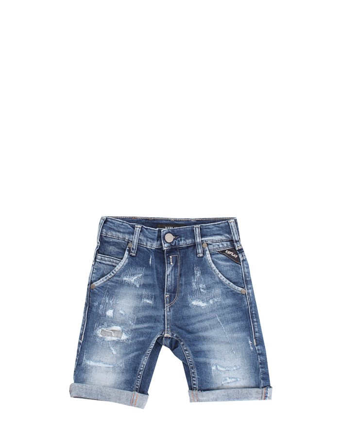 REPLAY Shorts Blue
