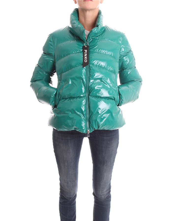 PINKO Jackets Jacket 1G154H-Y6BJ Green