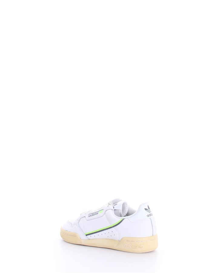 ADIDAS Trainers White green