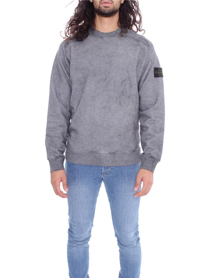 STONE ISLAND Sweat Grey