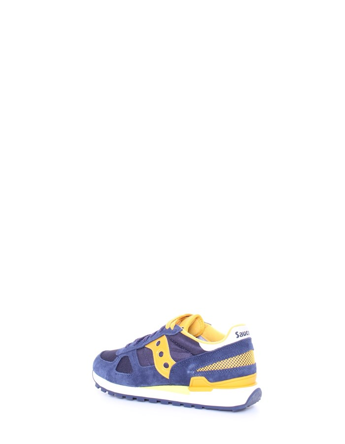 SAUCONY Sneakers Yellow blue