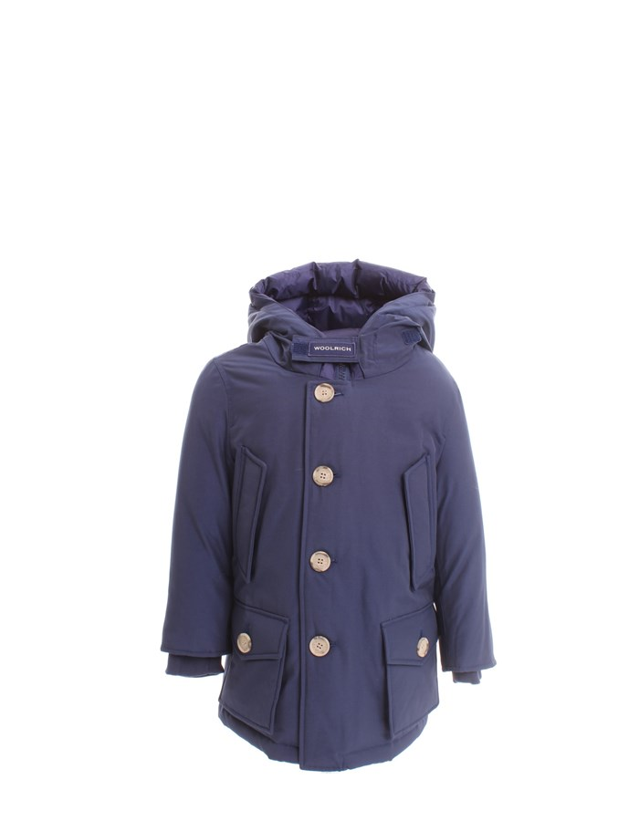WOOLRICH Parka Light blue
