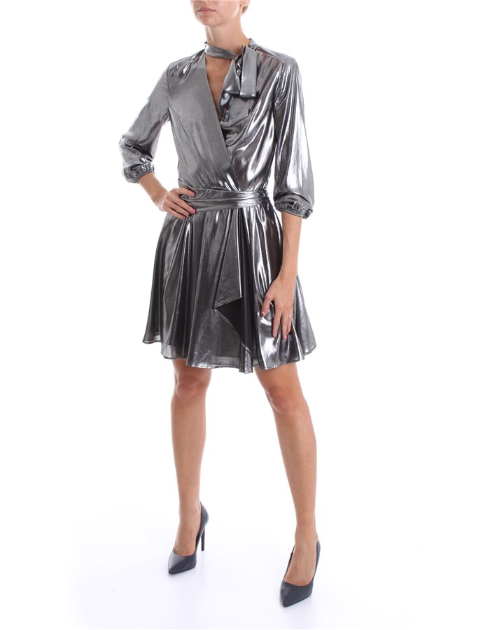 LIU JO Dress Black silver