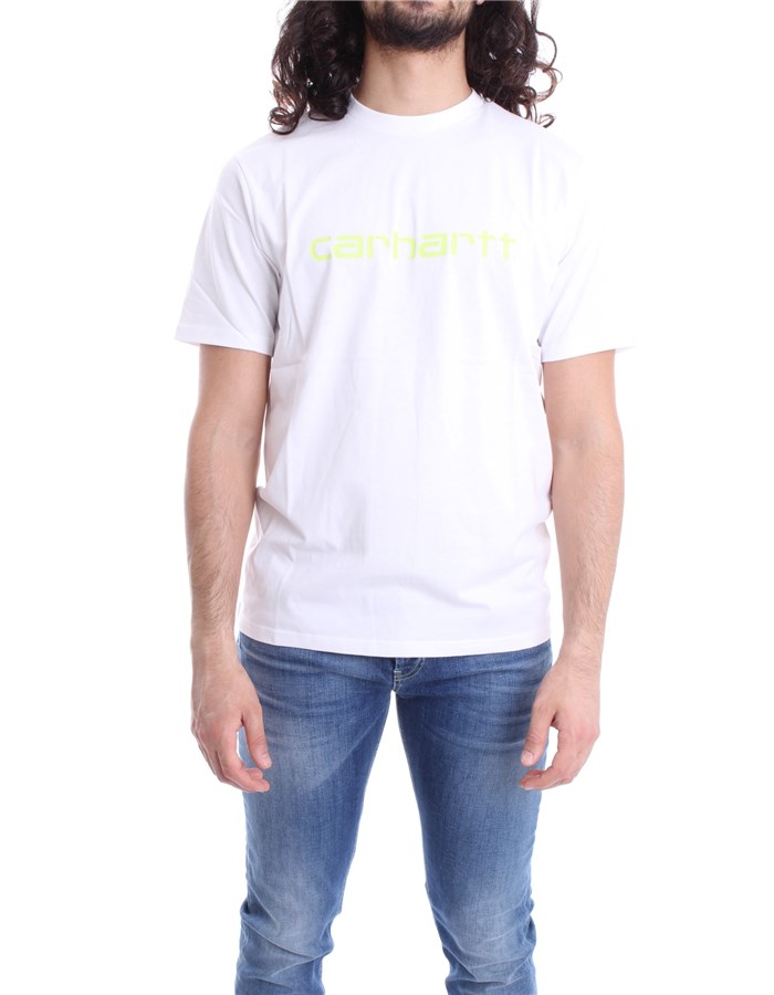 CARHARTT T-SHIRT Lime white