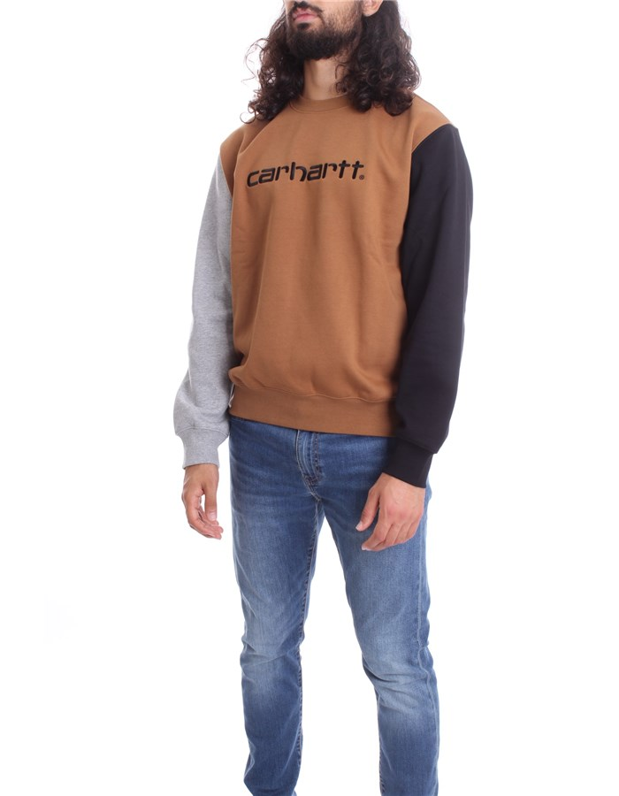 CARHARTT Sweat Hamilton brown