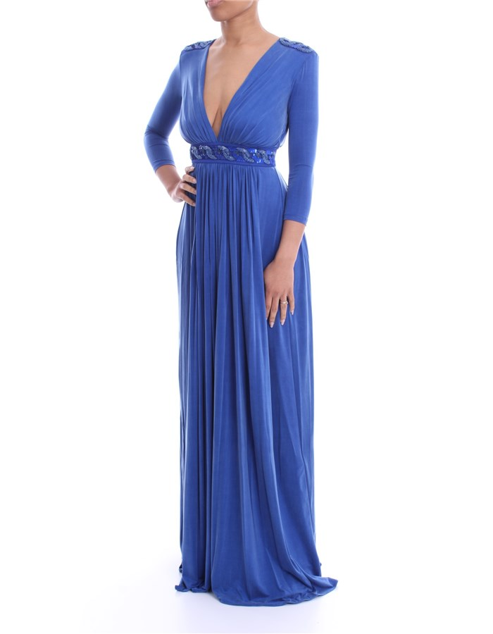 ELISABETTA FRANCHI Dress Cobalt