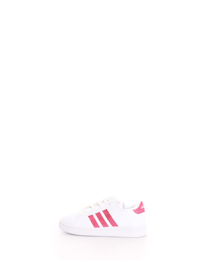 ADIDAS Trainers White pink