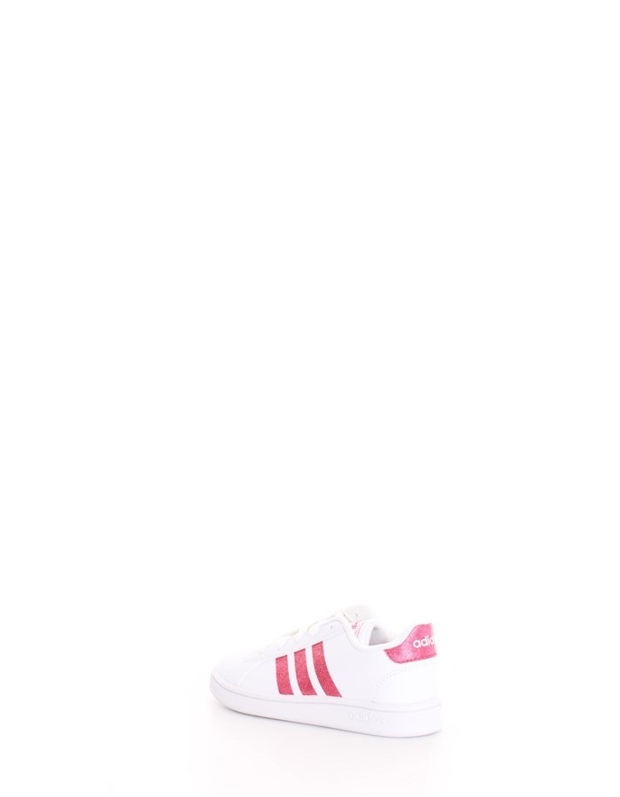 ADIDAS Sneakers White pink