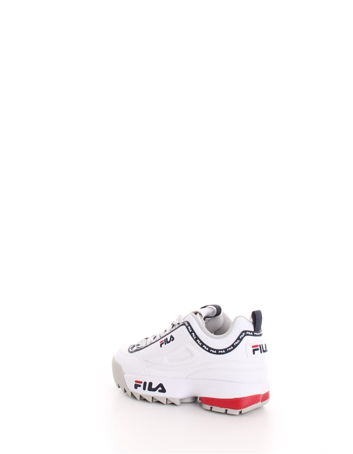 FILA Trainers Blue white