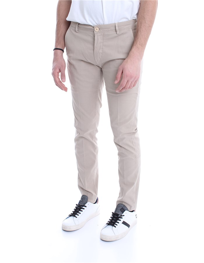 YAN SIMMONS Trousers Natural