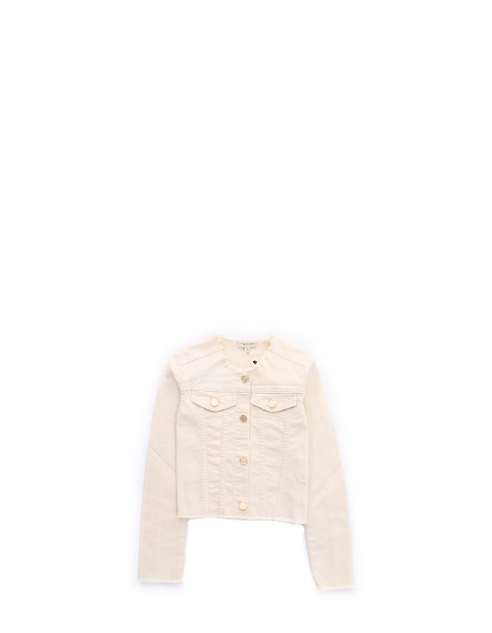 TWIN SET Jacket Cream