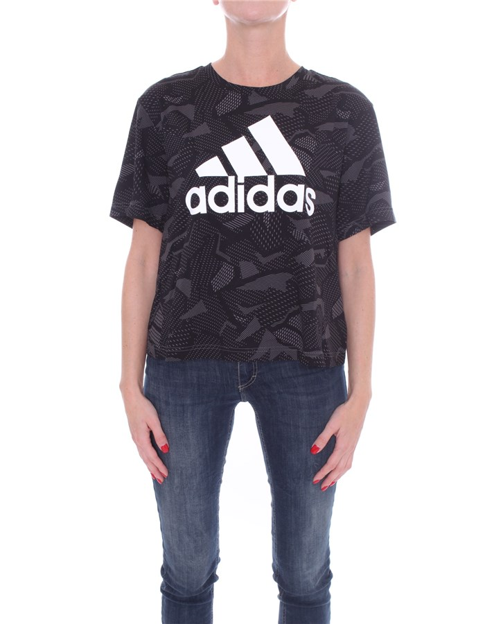 ADIDAS Short sleeve Black