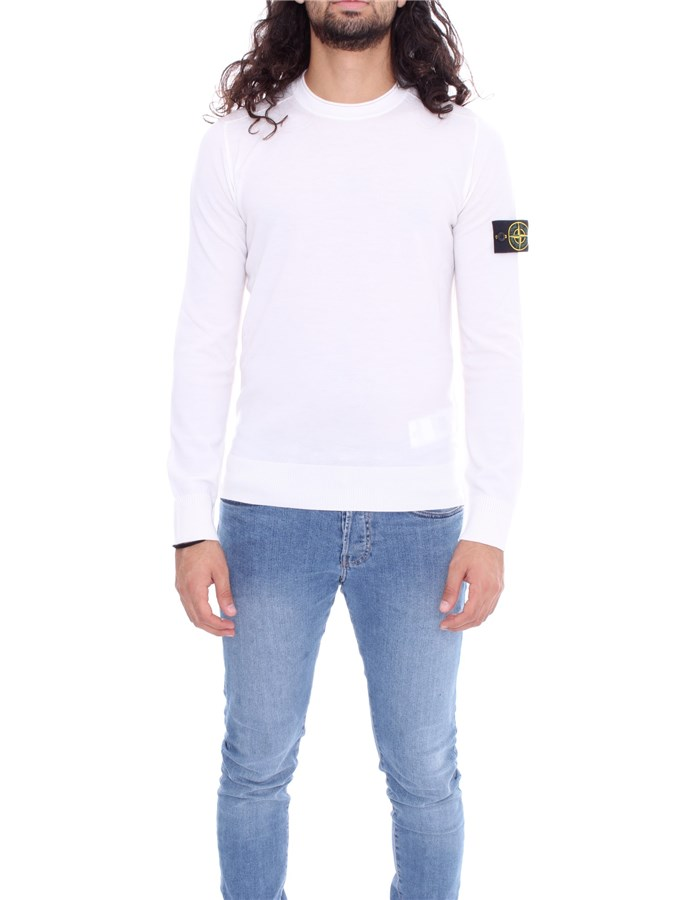 STONE ISLAND Sweater Milk