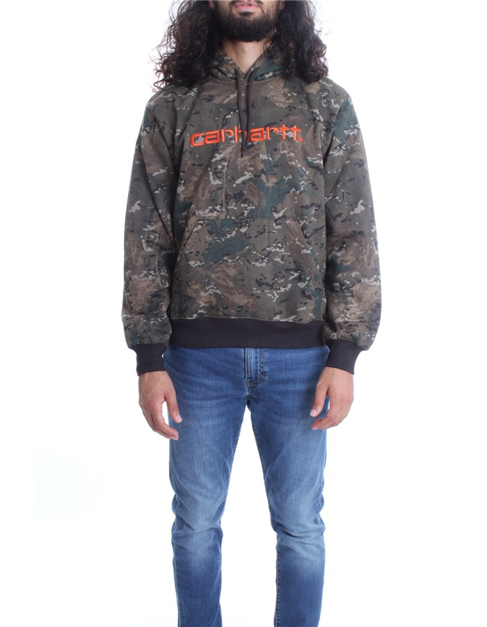 CARHARTT Sweat Camou brush