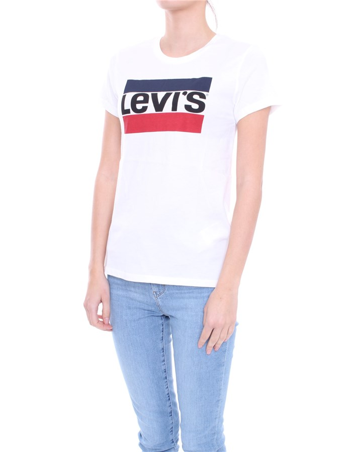 LEVI'S T-shirt Multicolor white