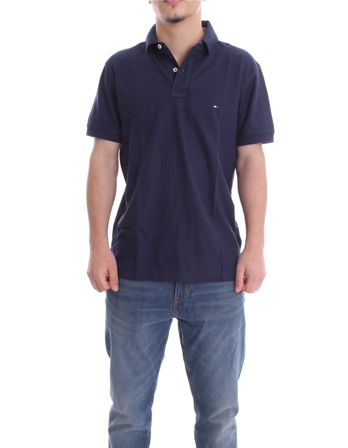 TOMMY HILFIGER Polo Dark blue