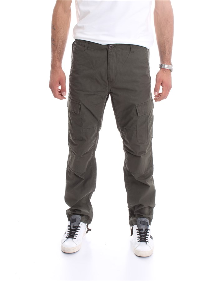 CARHARTT Trousers Cargo I009578 Green