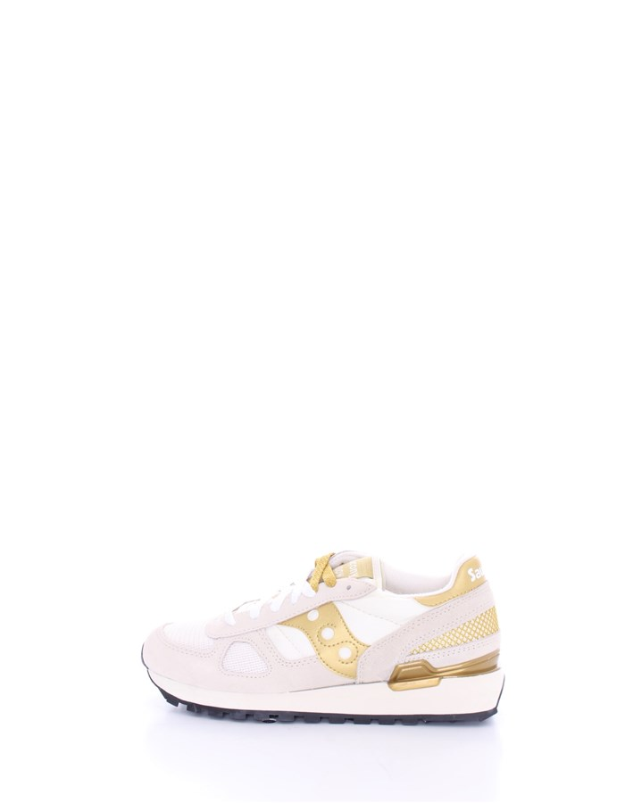 SAUCONY Trainers White gold