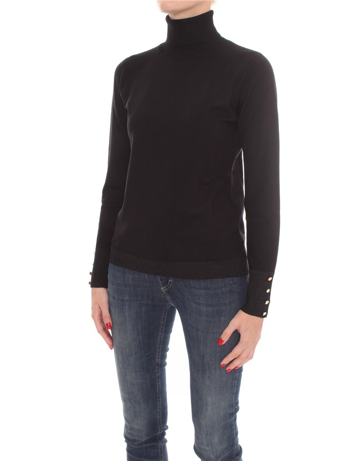 ZOE High Neck  Black